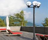 Κολώνες Φωτισμού Εξωτερικών Χώρων