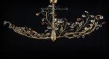 Madriam - Εξάφωτη ράγα ημιοροφής - μπρονζέ