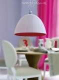 Nudo - Μονόφωτο λευκό - κόκκινο