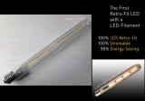Λάμπα EDISON LED T8 - 30 cm
