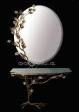 Καθρέφτης με κονσόλα Flora II