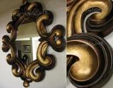 Καθρέφτης MILANO - χρυσό