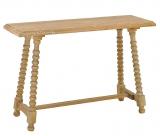 Κονσόλα ξύλινη NATURAL
